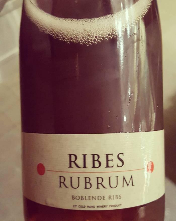 Nobelhart und Schmutzig - Johannisbeerschaumwein Ribes Rubrum